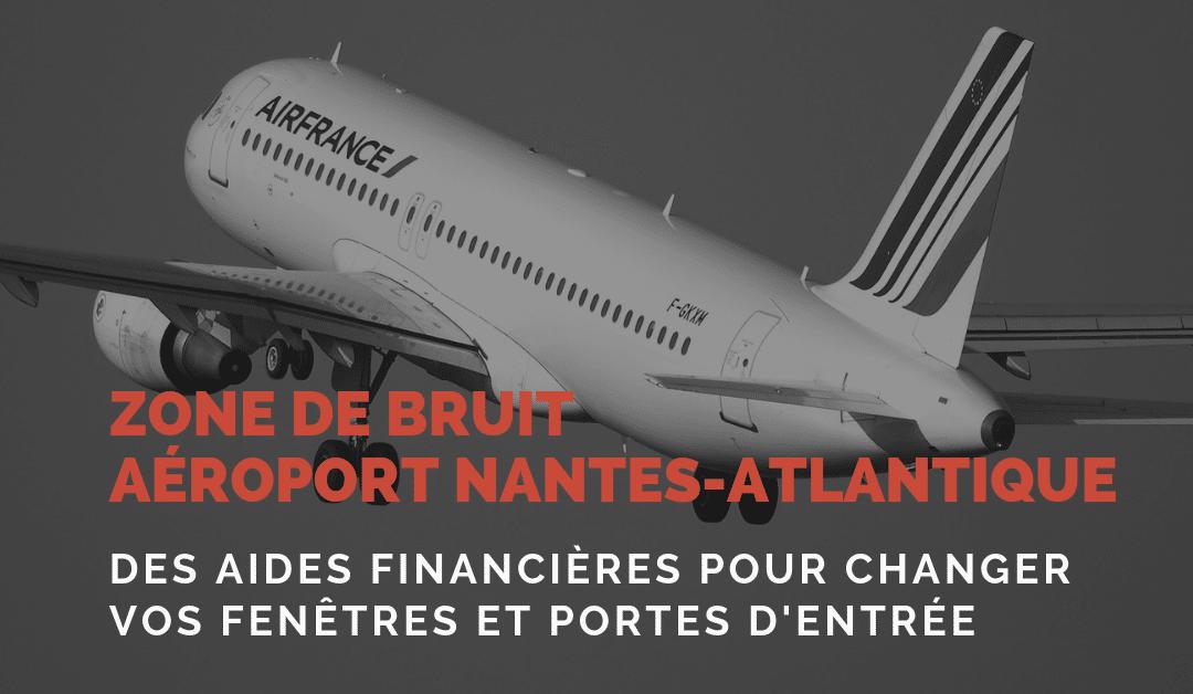 Zone de bruit aéroport Nantes Atlantique